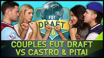COUPLES FUT DRAFT VS CASTRO & PITA! - Fifa 16 Ultimate Team