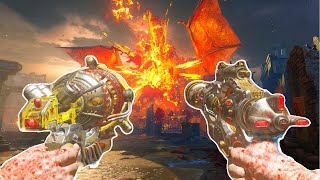 "BLACK OPS 3 ZOMBIES ""GOROD KROVI"" EASTER EGG SOLO BOSS FIGHT ATTEMPT! (BO3 Zombies)"