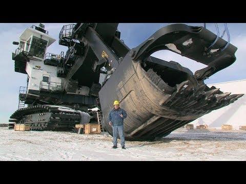 Самые большие и мощные экскаваторы в мире!