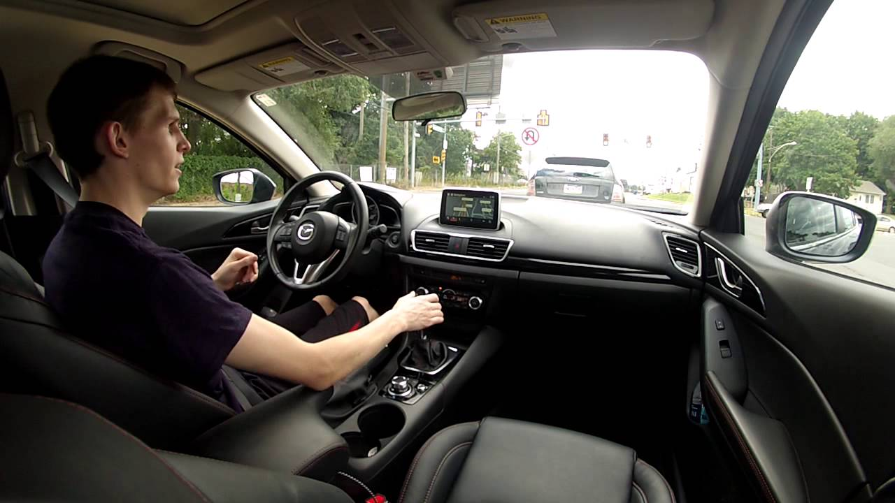 6 Things I like about my 2015 Mazda 3 i Grand Touring - YouTube