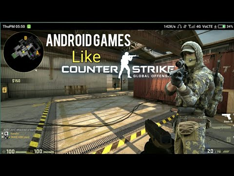 Top 10 games like CS:GO on android