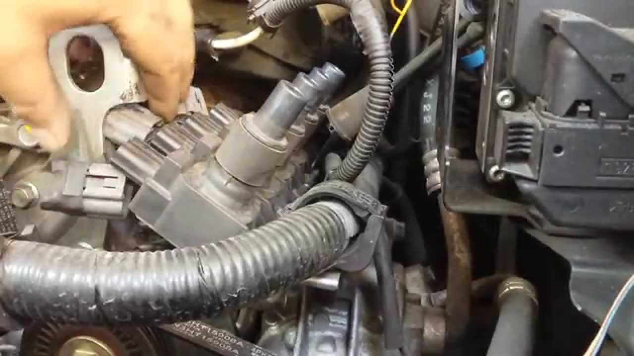 20042011 Mazda RX8: Ignition coilspark plugspark plug wire replacement  YouTube