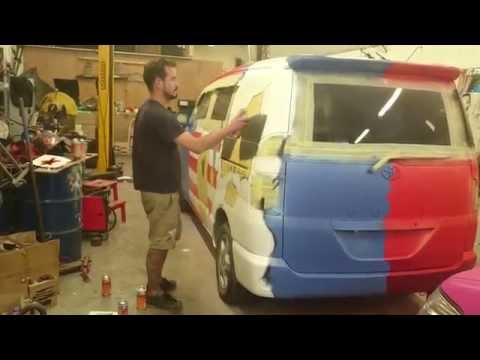 Amazing painting technically perfect spray in cars