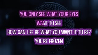 Frozen Karaoke Version by Madonna (Video with Lyrics)