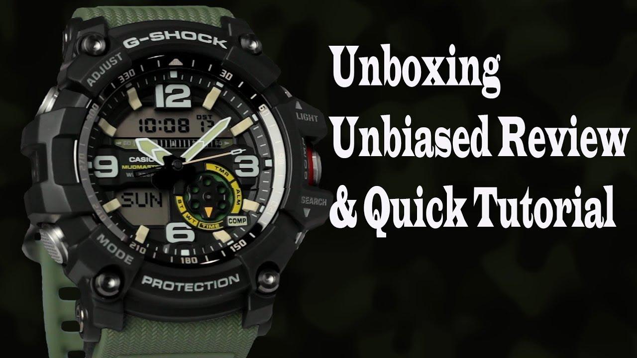CASIO G-SHOCK GG-1000 MUDMASTER (Unboxing d0658a8b103