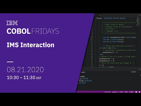 COBOL Fridays: IMS Interaction