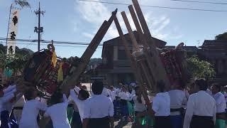 宮窪秋祭り 喧嘩神輿 2017