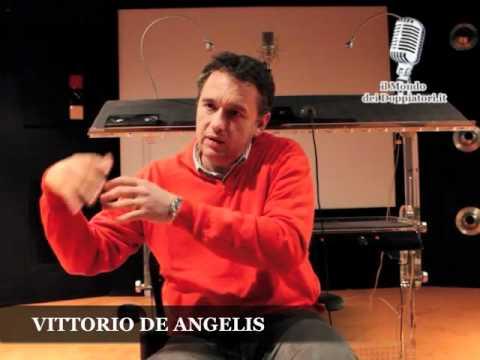 Intervista a VITTORIO DE ANGELIS (2011) | enciclopediadeldoppiaggio.it