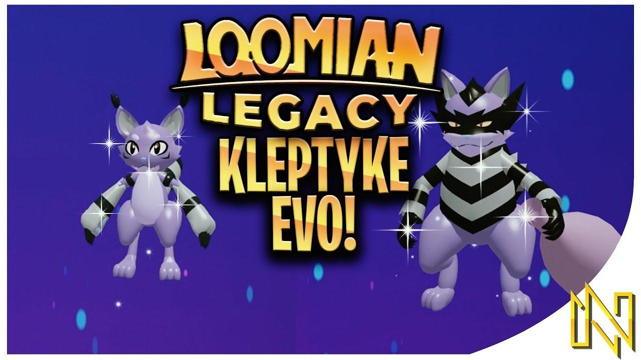 Gleaming Kleptyke Evolution Loomian Legacy Youtube