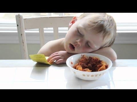 Funny Babies Falling Asleep While Eating Compilation