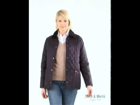 Women's Barbour Quilted Jacket - YouTube : barbour shaped liddesdale quilted jacket - Adamdwight.com
