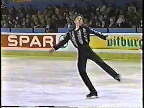 Michael Weiss USA - 1994 World Junior Championships LP