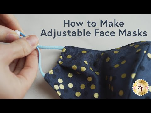 How to Make Adjustable Face Masks   a Shabby Fabrics Tutorial