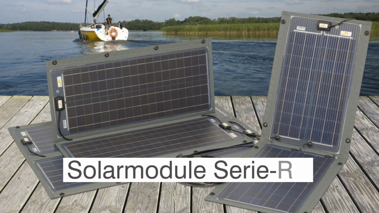 faltbare plug play solarmodule mit laderegler sunware. Black Bedroom Furniture Sets. Home Design Ideas
