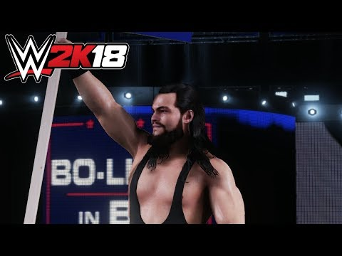 WWE 2K18 - Bo Dallas (Entrance, Signature, Finisher)