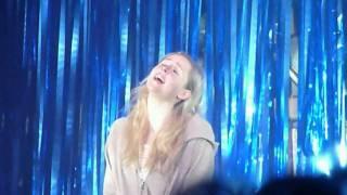 Diana Vickers. Sunlight  (live theatre clip).  Little voice. Part 5