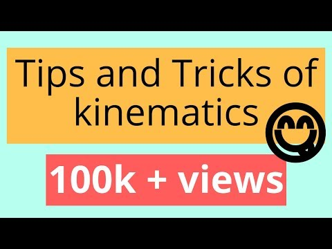 TIPS AND TRICKS !KINEMATICS (MOTION UNDER GRAVITY)!NEET!AIIMS!IIT!JEE!AIEEE!11!12!CBSE
