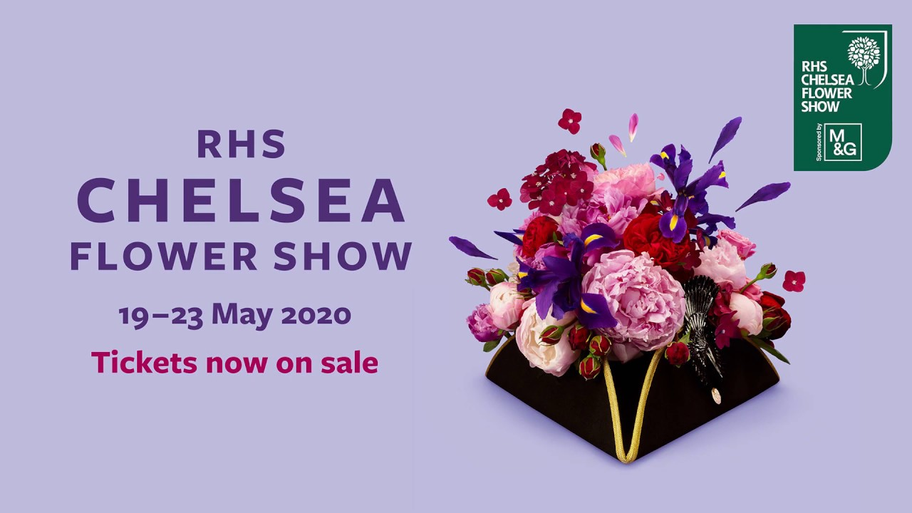 Flower Show 2020.Rhs Chelsea Flower Show Tickets On Sale Now