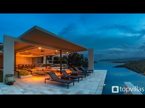 Amazing Thai villas tour this incredible seaview vacation home in Choeng Mon Koh Samui
