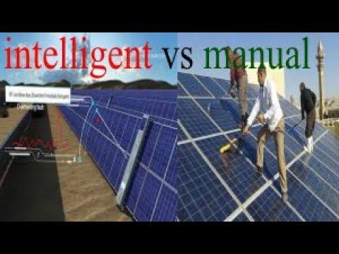 طرق تنظيف وصيانة خلايا | الطاقة الشمسية | cleaning | solar panels