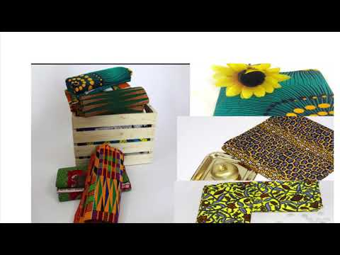 How to take flat lay photos of Ankara fabrics/African print