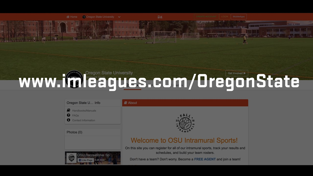 IMLeagues | Oregon State University | Intramural Home