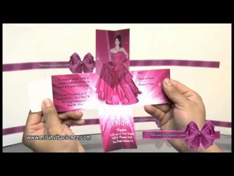 Invitacion de Quinceañera - YouTube