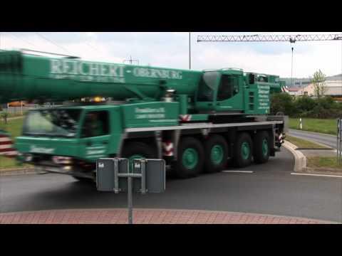 Reichert Kranverleih - Rent a crane near Frankfurt / Germany