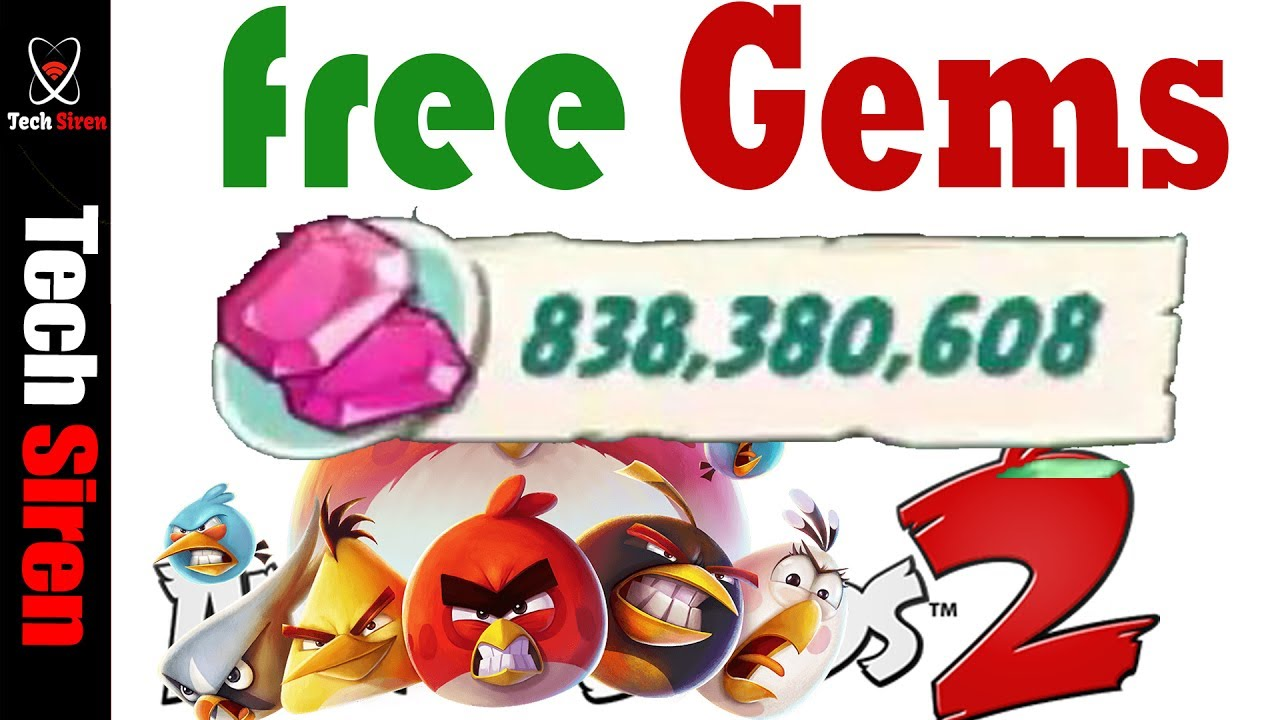 Angry Birds 2 Hack 2018 angry birds 2 hack | angry birds 2 cheats to get unlimited gems