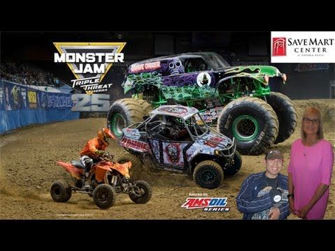Monster Jam Event - Fresno, CA - Save Mart Center