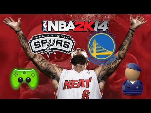 NBA 2K14 # 4 - San Antonio Spurs VS Golden State Warriors «» Let's Orakel NBA 2K14| HD