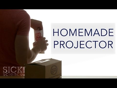 Homemade Projector - Sick Science! #201