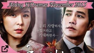 Video Top 10 Currently Airing Korean Dramas November 2015 download MP3, 3GP, MP4, WEBM, AVI, FLV Januari 2018
