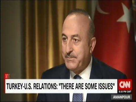 Dışişleri Bakanı Sayın Mevlüt Çavuşoğlu CNN International'da Amanpour'un sorularını yanıtladı
