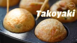 [ASMR] TAKOYAKI recipe - Cách làm Takoyaki