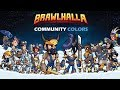 Brawlhalla - Community colors code giveaway + Rayman reveal