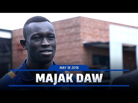 Majak Daw media conference (May 18, 2018)
