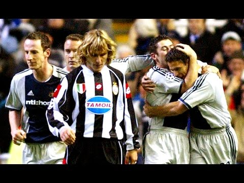 Newcastle United - Champions League - The Glory Days