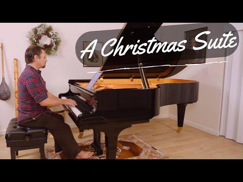 A Christmas Suite - Piano Medley of Christmas Carols - David Hicken