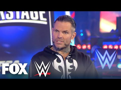 Jeff Hardy on his return: 'I will be different' | WWE BACKSTAGE | WWE ON FOX