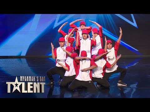 Junior Creative Dance Crew: Auditions | Myanmar's Got Talent 2018 thumbnail