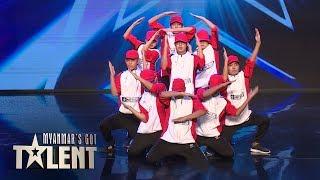 Junior Creative Dance Crew: Auditions | Myanmar's Got Talent 2018