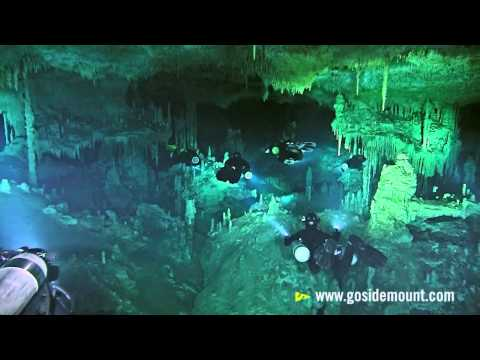 Go Sidemount | First ever cave diving flash mob