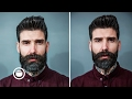 Short Beard Trim With Disconnected Mustache | Carlos Costa