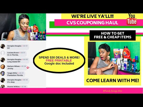 LIVE CVS Coupon Haul! How to Get Free & Cheap Transactions! Plus Get Paid 2 Shop (Beginner Friendly)