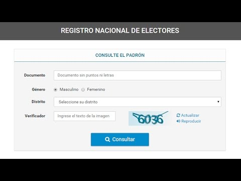 Donde Votar Como Saber Donde Votar Bs As En Segundosиз YouTube · Длительность: 1 мин28 с