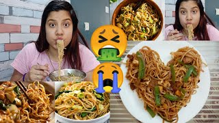 😭I Ate Only Chowmein🍜 For Legit 24 Hours 😱 Challenge 🇮🇳 Trending Food Challenge by Sejal Singh