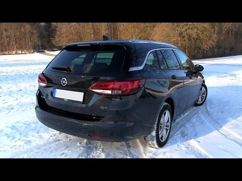 2017 Opel Astra 1.6 CDTI ecoFLEX 136 HP TEST DRIVE