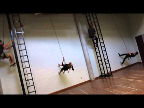 Gravity Free Aerial Training at NIDA