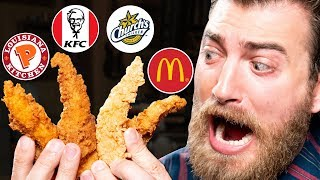 Blind Chicken Finger Taste Test